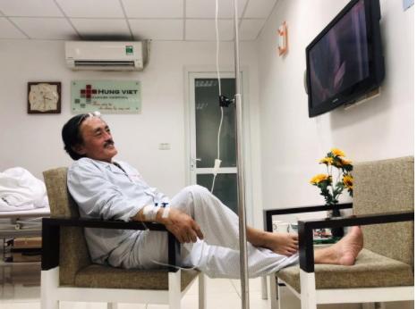 Nghệ sĩ Giang còi nhập viện vì nghi có khối u ở họng - Ảnh 3.