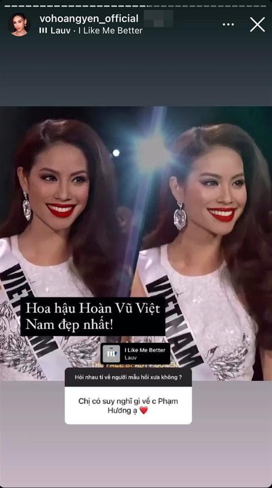 Võ Hoàng Yến khẳng định Phạm Hương là Hoa hậu Hoàn vũ Việt Nam đẹp nhất - Ảnh 1.