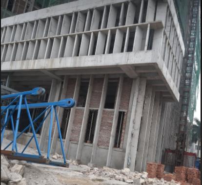 CLIP: Hiện trường rơi thang máy công trình trụ sở Sở Tài chính - Ảnh 5.