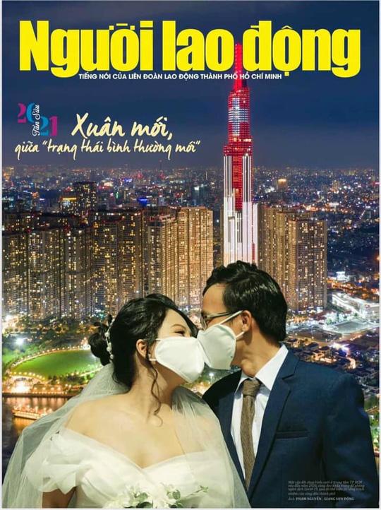 Báo Người Lao Động đoạt giải nhì Cuộc thi bìa Báo Xuân Tân Sửu 2021 - Ảnh 1.