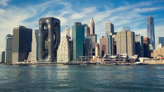 Những thiết kế kiến trúc cao ốc táo bạo - Ảnh 3.