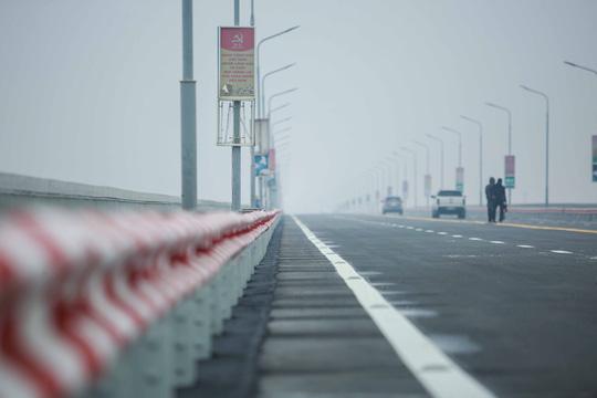 CLIP: Thông xe cầu Thăng Long sau gần 5 tháng sửa chữa - Ảnh 10.