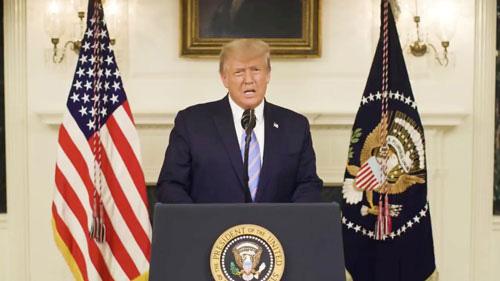 Kịch bản nào chờ ông Trump sau bạo loạn? - Ảnh 1.