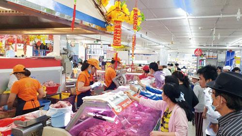 Thịt heo Sagrifood giảm giá 20% - Ảnh 1.