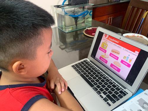 Quá tải học trực tuyến - Ảnh 1.