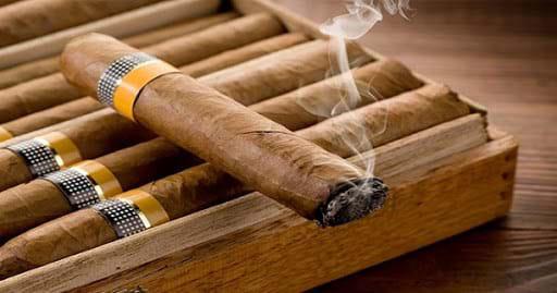 Hút xì gà thay thuốc lá: có nguy cơ ung thư! - Ảnh 1.