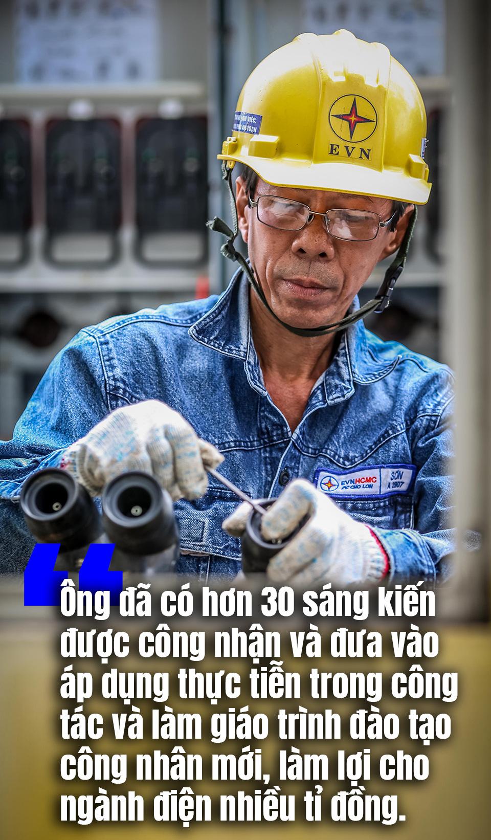 [eMagazine] Ngày thường của thợ điện Anh hùng lao động - Ảnh 8.