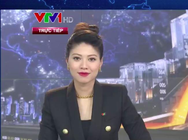 BTV Ngọc Trinh tái xuất trên sóng VTV - Ảnh 1.