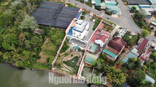 Buộc cưỡng chế tháo dỡ biệt thự khủng không phép ở TP Bảo Lộc - Ảnh 2.