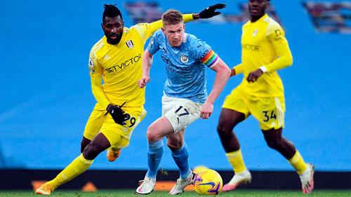 Fulham khó ngăn Man City - Ảnh 1.