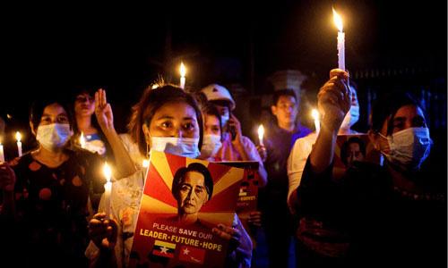 Biểu tình dai dẳng ở Myanmar - Ảnh 1.