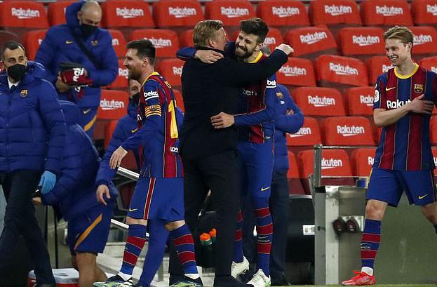 Ngược dòng siêu kịch tính, Barcelona đoạt vé dự chung kết Cúp Nhà vua - Ảnh 9.