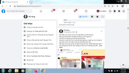Đề nghị xử lý tài khoản Facebook giả lệnh truy nã của Bộ Công an để lăng mạ nhà báo - Ảnh 1.