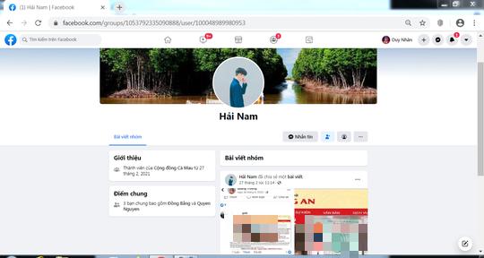 Đề nghị xử lý tài khoản Facebook giả lệnh truy nã của Bộ Công an để lăng mạ nhà báo - Ảnh 5.