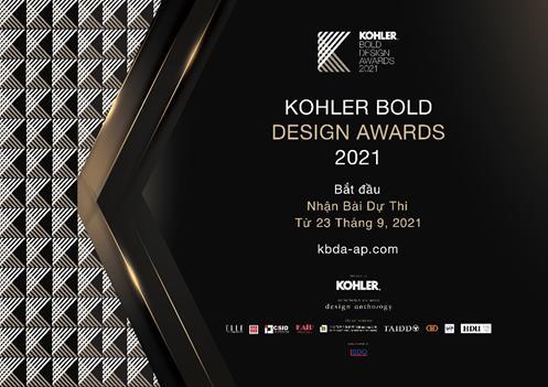 4 điểm nổi bật tại giải thưởng KOHLER Bold Design Awards 2021 - Ảnh 1.