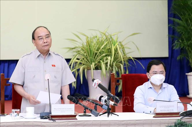 Chủ tịch nước Nguyễn Xuân Phúc gặp mặt Hội Doanh nghiệp trẻ Việt Nam - Ảnh 3.