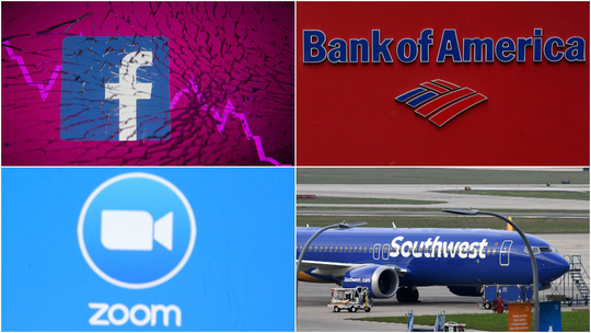 Sự cố mất điện xảy ra với Bank of America, Southwest Airlines, Zoom, Snapchat  - Ảnh 1.