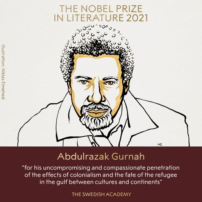 Tiểu thuyết gia đoạt giải Nobel Văn học 2021 là ai? - Ảnh 1.