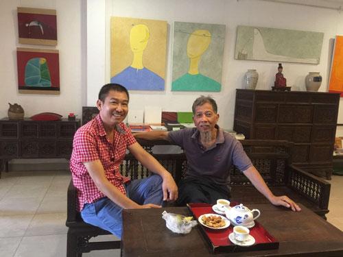 Chút hồi ức về nhà văn Nguyễn Huy Thiệp - Ảnh 1.