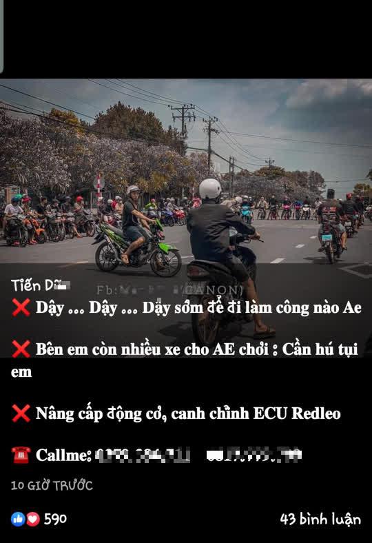 Cục CSGT làm việc với 2 Facebooker từng khoe chặn cao tốc TP HCM - Long Thành - Dầu Giây để đua xe - Ảnh 3.
