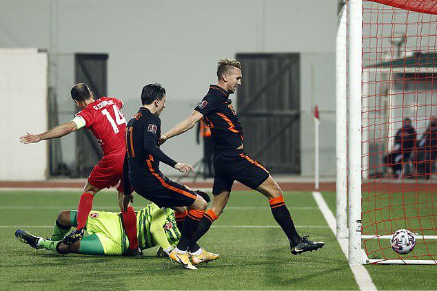 Bỉ, Hà Lan dội mưa 15 bàn, thắng đậm vòng loại World Cup - Ảnh 6.