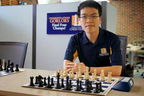 Lê Quang Liêm được bổ nhiệm HLV trưởng đội cờ vua Đại học Webster - Ảnh 6.
