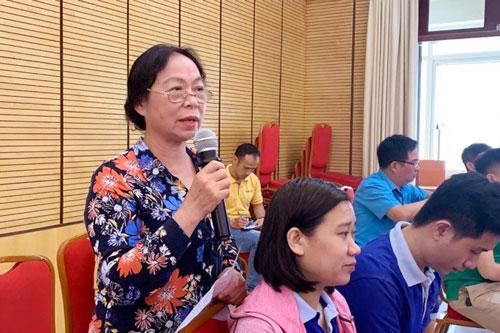 Hà Nội: 300 công nhân, viên chức, lao động tìm hiểu về chính sách pháp luật - Ảnh 1.