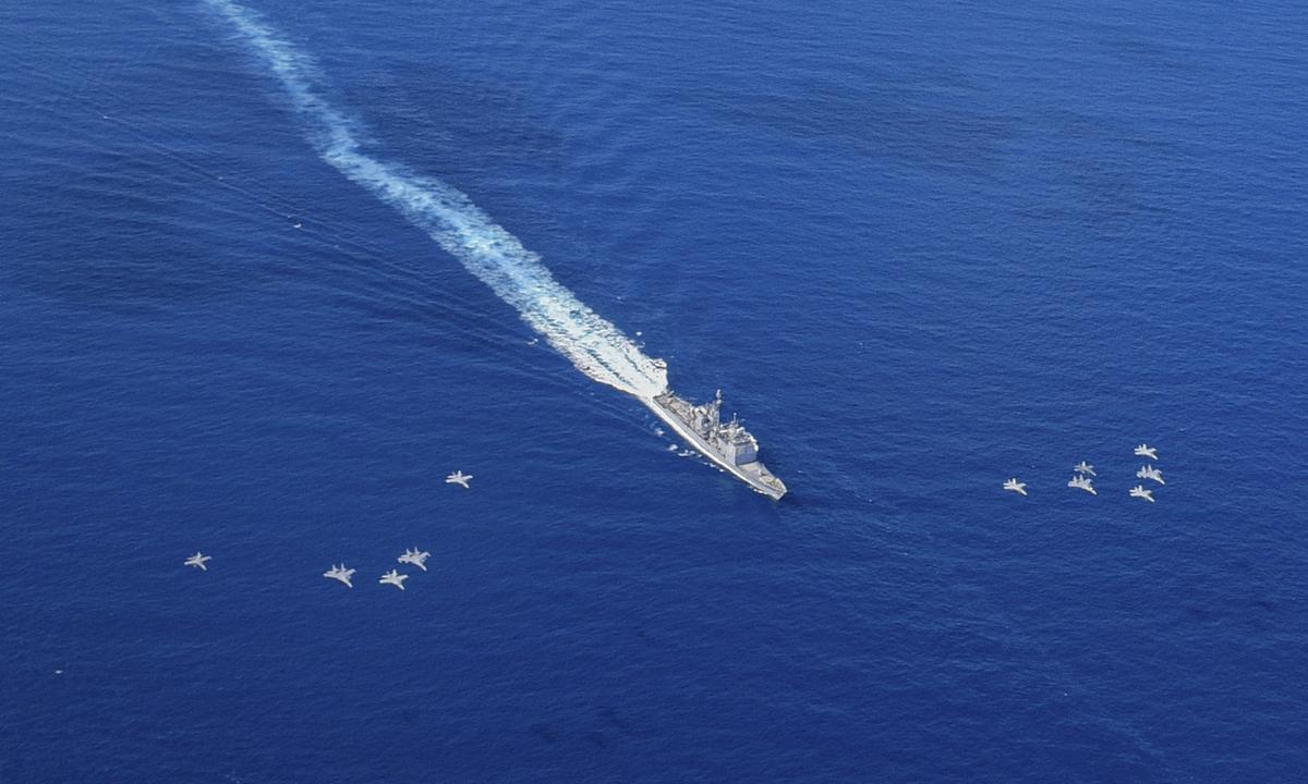 [eMagazine] Thông điệp ngầm của Mỹ trên biển Đông - Ảnh 4.