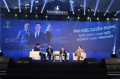 Siêu sự kiện Tuyển dụng Vinhomes 2021: Hàng ngàn bạn trẻ có việc làm - Ảnh 2.