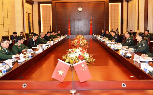 Việt Nam và Trung Quốc đối thoại chiến lược quốc phòng - Ảnh 1.