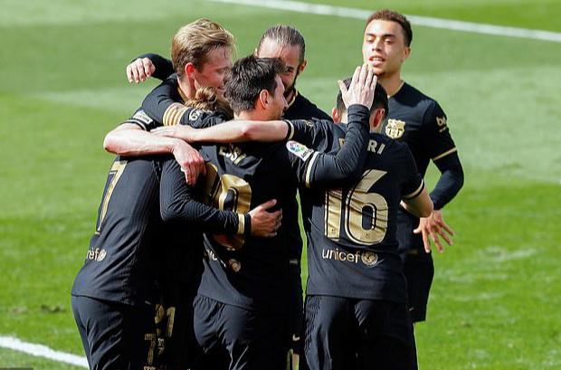 Antoine Griezmann chói sáng, Barcelona sắp chạm tay đến ngôi vô địch La Liga - Ảnh 6.