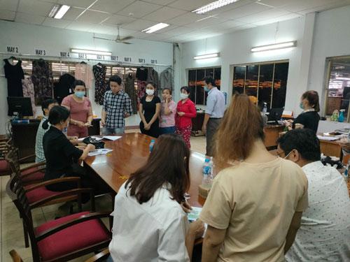 CÔNG TY TNHH KYUNG RHIM VINA: Mỗi công nhân được hỗ trợ 2 tháng lương - Ảnh 1.