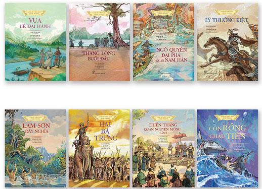 Sách tranh về lịch sử Việt Nam - Ảnh 1.