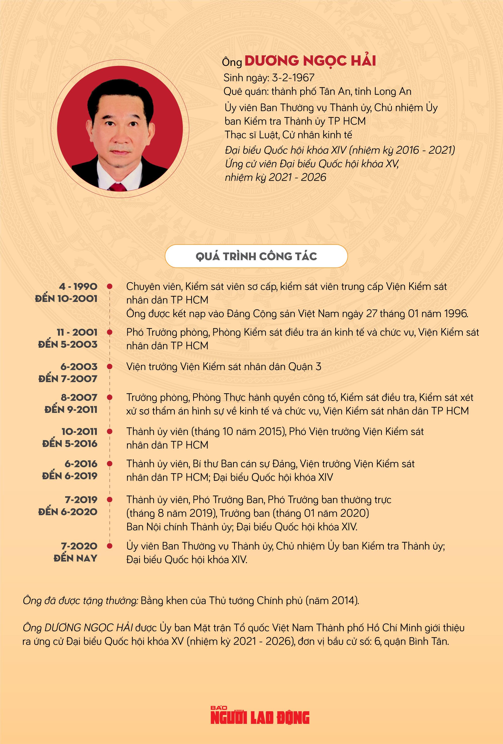 Ông Dương Ngọc Hải: Giám sát công tác cán bộ, chống chạy chức, chạy quyền - Ảnh 1.