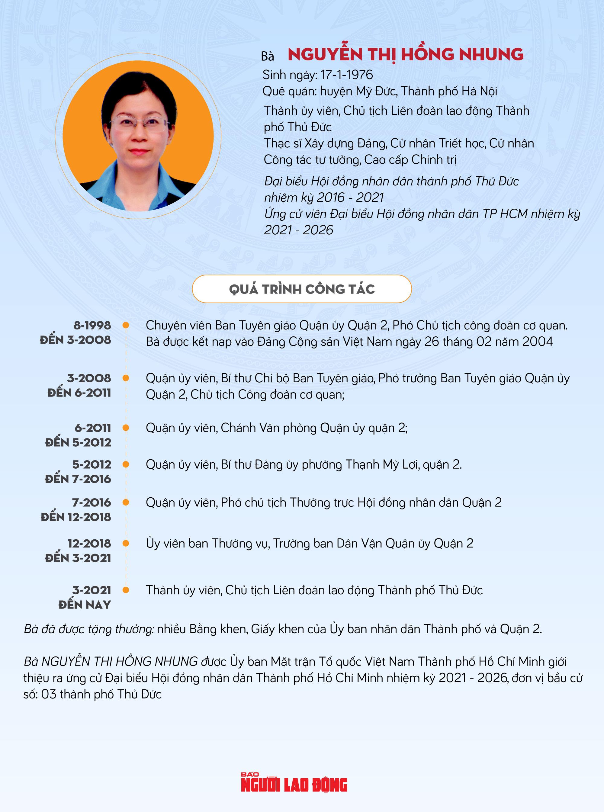 Bà Nguyễn Thị Hồng Nhung: Rất mong được sự góp ý, ủng hộ của cử tri - Ảnh 1.