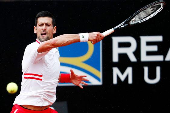 Djokovic gặp khó tại Rome Masters 2021 - Ảnh 1.