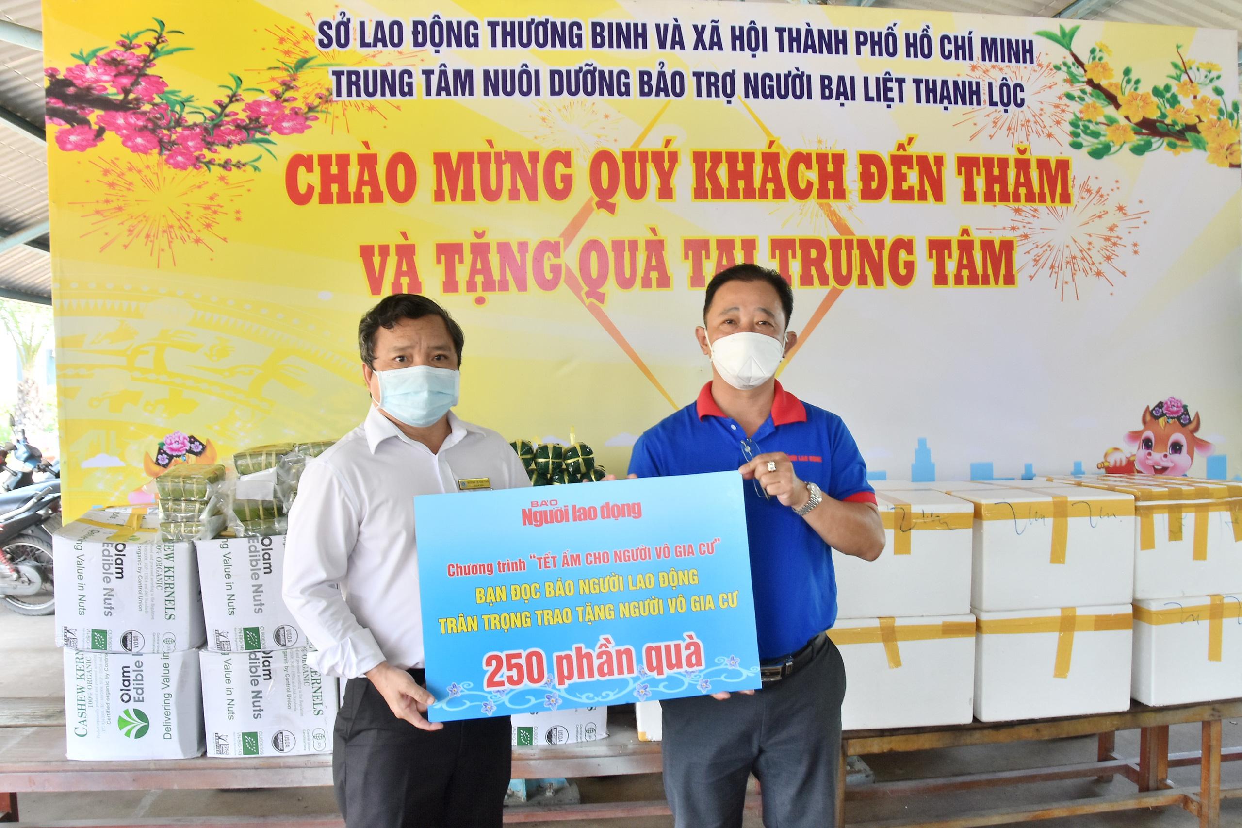 TT Nuôi dưỡng Bảo trợ người bại liệt Thạnh Lộc- 5500