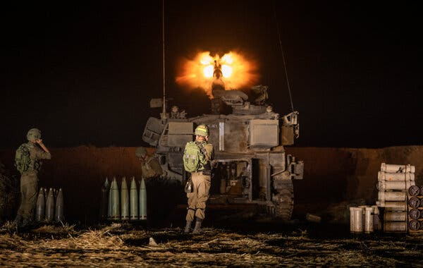 Bộ binh Israel bắt đầu tấn công Gaza, căng thẳng leo thang - Ảnh 1.