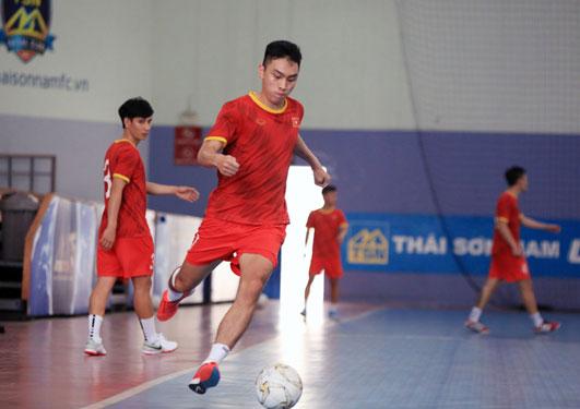 Tuyển futsal Việt Nam quyết đánh bại Lebanon - Ảnh 1.