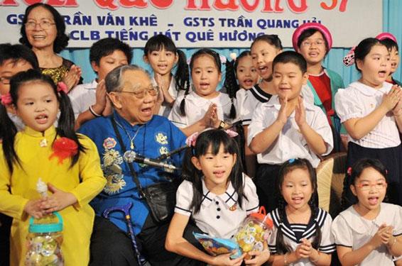 Thực hiện di nguyện cố GS-TS Trần Văn Khê - Ảnh 1.