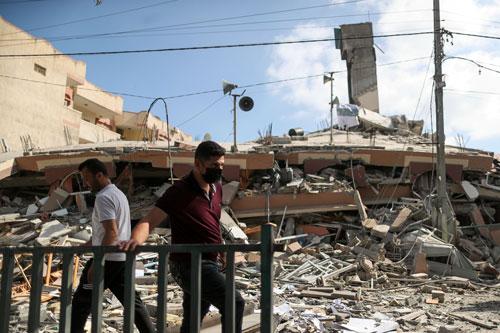 Ngăn chặn xung đột lan ra ngoài phạm vi Dải Gaza - Ảnh 1.