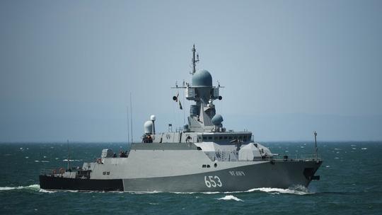 Nga chế tạo tàu chiến tàng hình công nghệ cao - Ảnh 1.