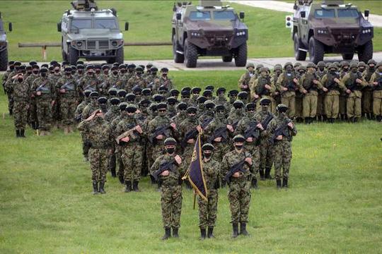 Mỹ, Nga làm nóng Balkan với các cuộc tập trận cùng lúc - Ảnh 1.