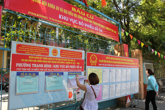 Đường phố rực cờ hoa, hơn 1,1 triệu cử tri Quảng Nam sẵn sàng đi bầu cử - Ảnh 24.