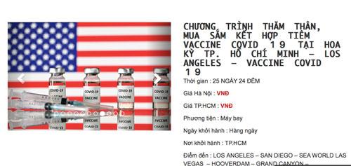Du lịch Mỹ tiêm vắc-xin Covid-19: Nên tìm hiểu kỹ - Ảnh 3.