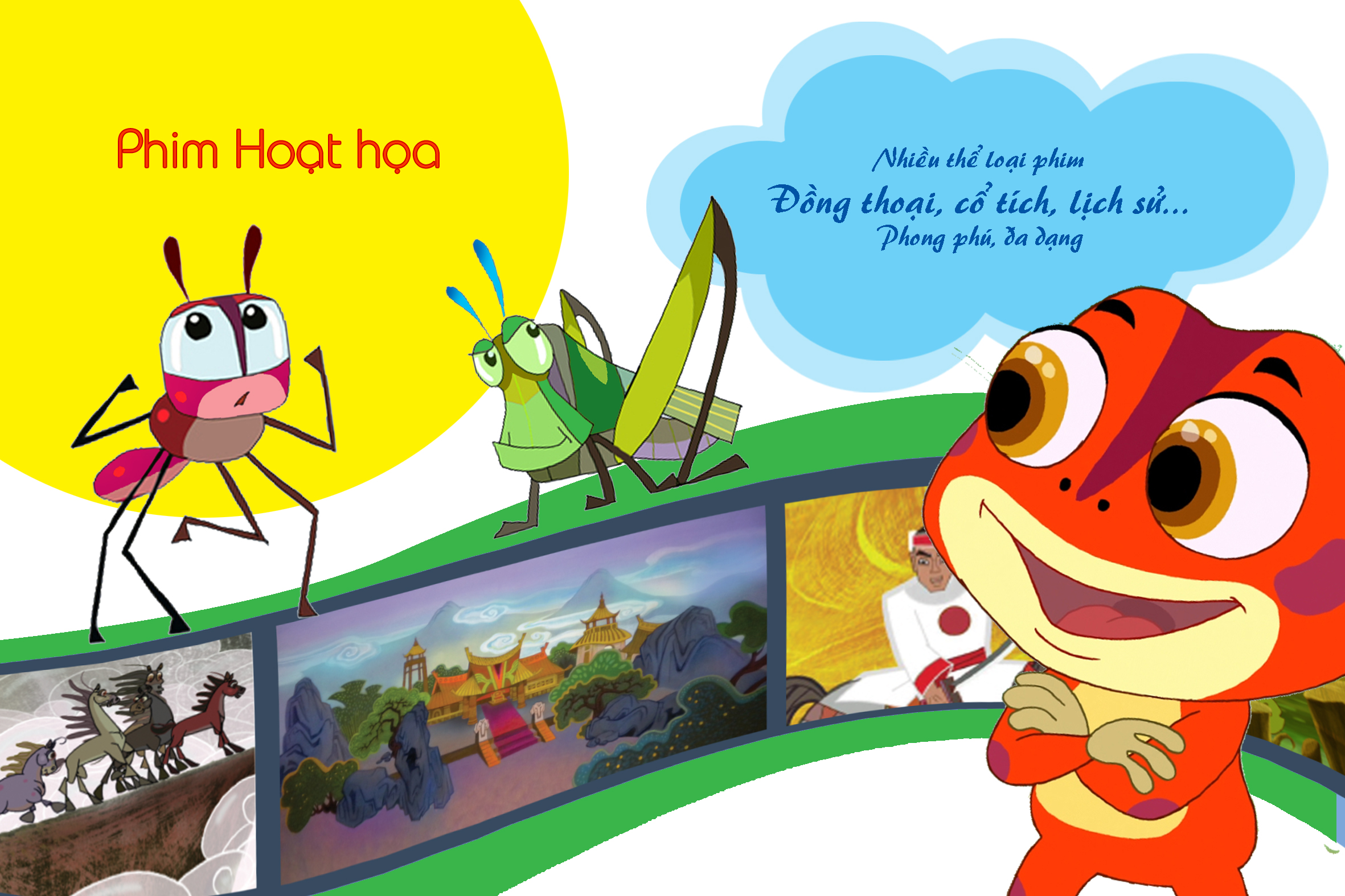 Xem miễn phí 50 phim hoạt hình Việt Nam mới nhất trên VTVGo - Báo Người lao  động
