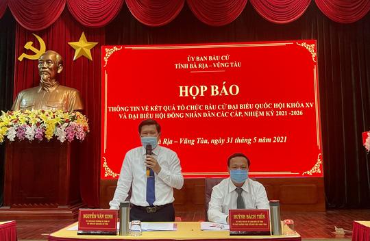 Danh sách 52 người trúng cử đại biểu HĐND tỉnh Bà Rịa - Vũng Tàu nhiệm kỳ 2021-2026 - Ảnh 1.