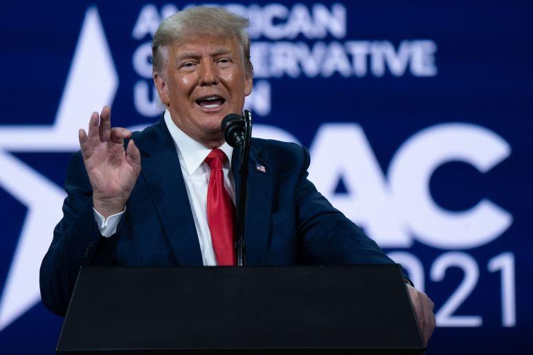 """Ông Donald Trump ra mắt kênh tương tác """"thách thức"""" Facebook - Báo Người lao động"""