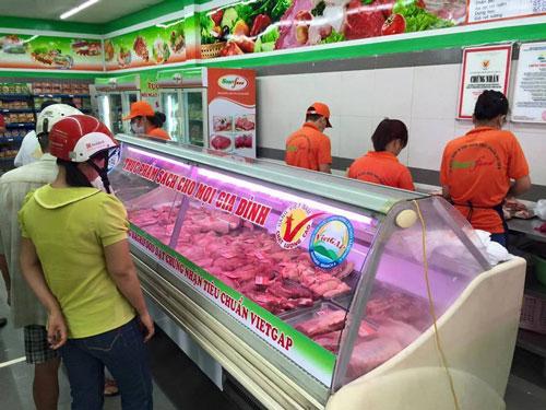 Sagrifood giảm giá thịt heo VietGAP đến 40% - Ảnh 1.