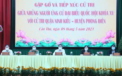 Thủ tướng Phạm Minh Chính kêu gọi người dân, cử tri chung tay chống dịch - Ảnh 2.